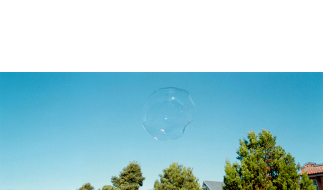 Untitled (bubble), 2010   C-print Edition 6