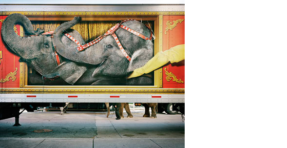 KYLE FORD  The Greatest Show on Earth   32 x 40 inches  Archival Pigment print on rag paper