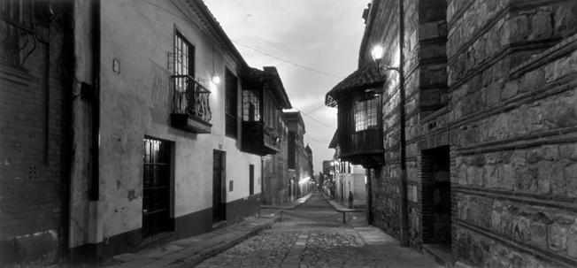 Calle Camerin D'Carmen, 2005  Bogota, Colombia Selenium toned silver gelatin print