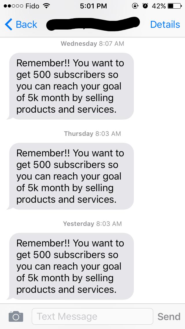 IFTTT Reminders