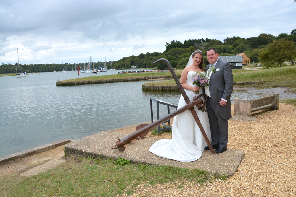 Buckers Hard Wedding Image
