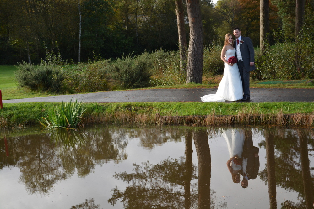 Reflections at Old Thorns, Photography by Hampshire Wedding Photography