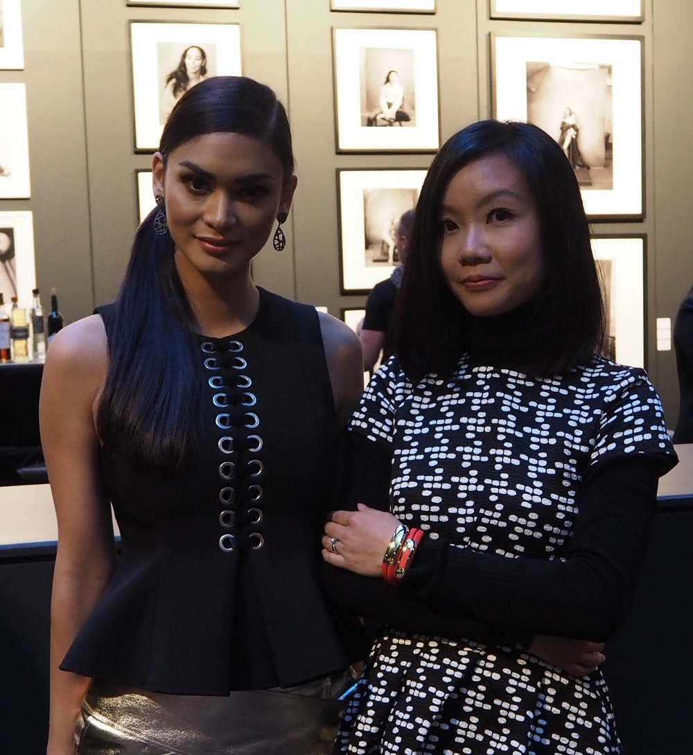 Our Founder & CEO Angela Pan and Miss Universe, Pia Alonzo Wurtzbach