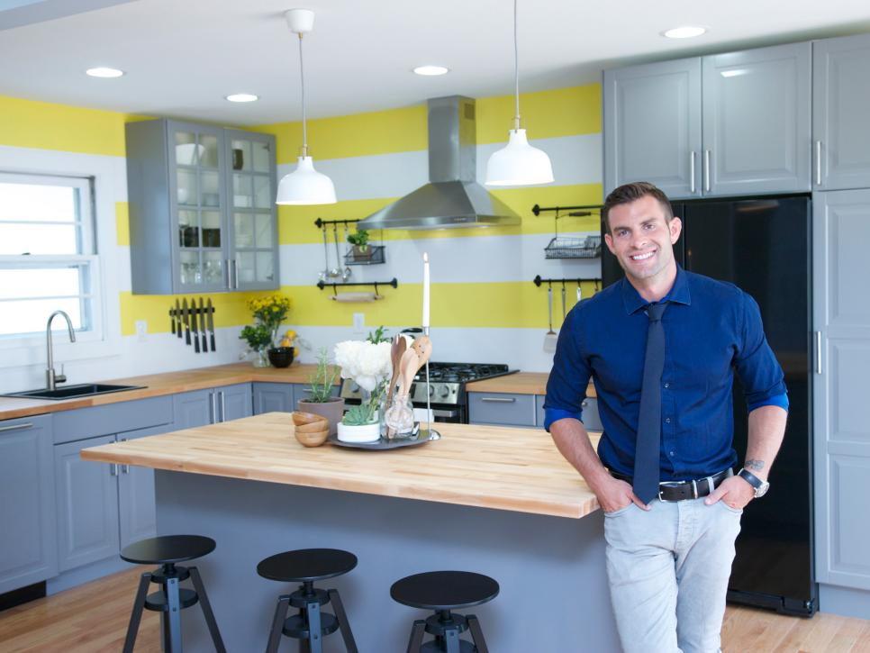 John pictured for HGTV