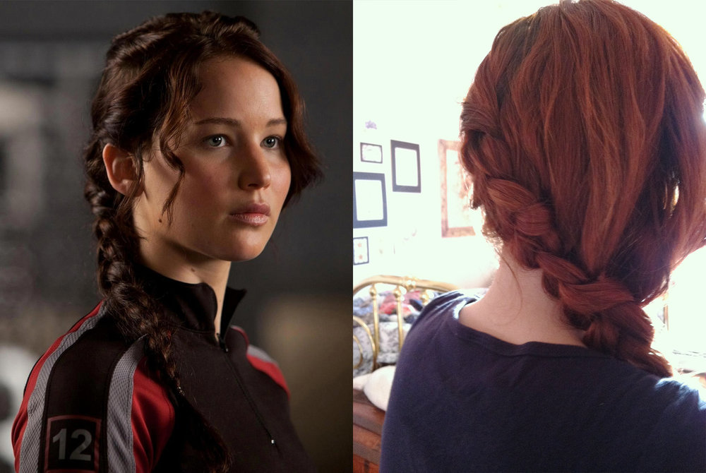 And last but not least...   Once, an 8-year-old girl told me I reminded her of Katniss.  -Lauren