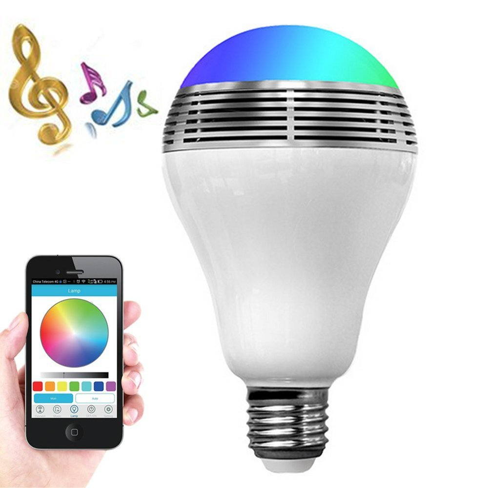 Smart LED Bluetooth Lightbulb