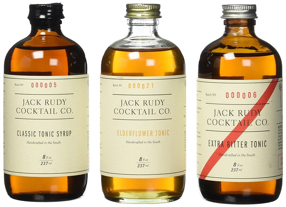 Jack Rudy Cocktail Co. Tonic Trio Amazon