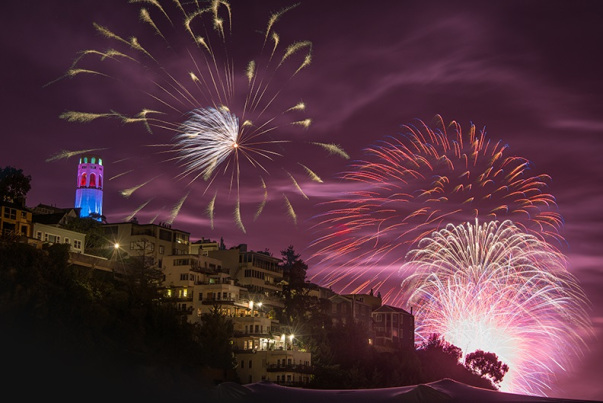 San Francisco Fireworks 2018