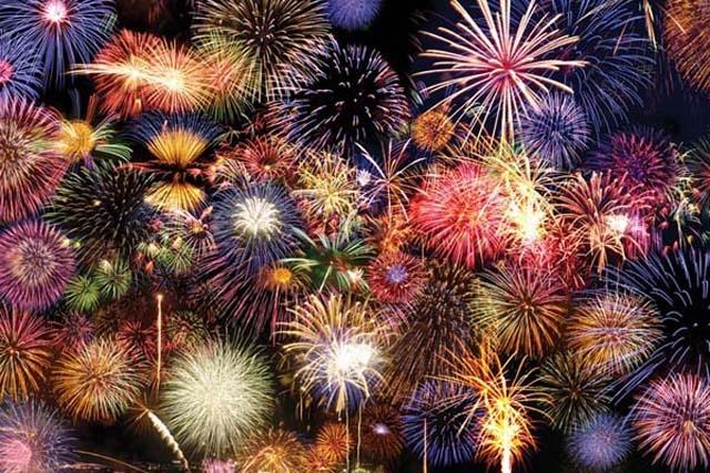 Berkeley Marina Fireworks 2018