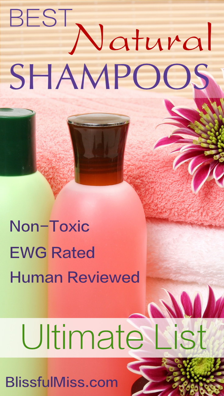 Make your Friends Jealous with your Gorgeous Hair and avoid Nasty Toxins at the same time. Right?! These Natural Shampoos are Rated Safe by EWG and Reviewed by Human Beings.Another great resource from Blissful Miss.