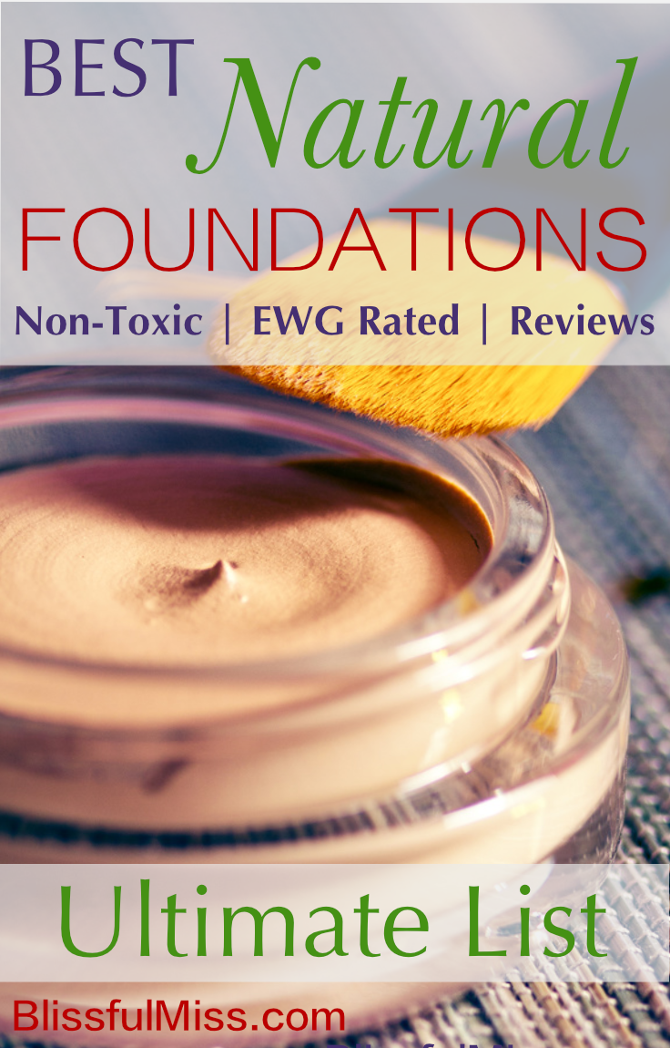 Find an Awesome Safe & Natural Foundation. This Easy Reference Guide will get you the Flawless look you want without nasty Toxins you don't. Another great resource from Blissful Miss.