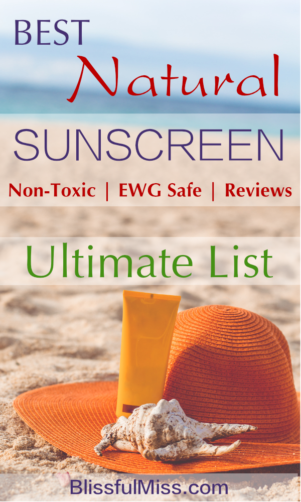 Seriously? Sunscreen that won't give you cancer OR leave you all white and pasty? SERIOUSLY! Don't waste your money and definitely don't risk your health. This Easy Reference Guide will lead you straight to your new favorite sunblock. Boom! Done. Yet another fantabulous product guide from Blissful Miss.