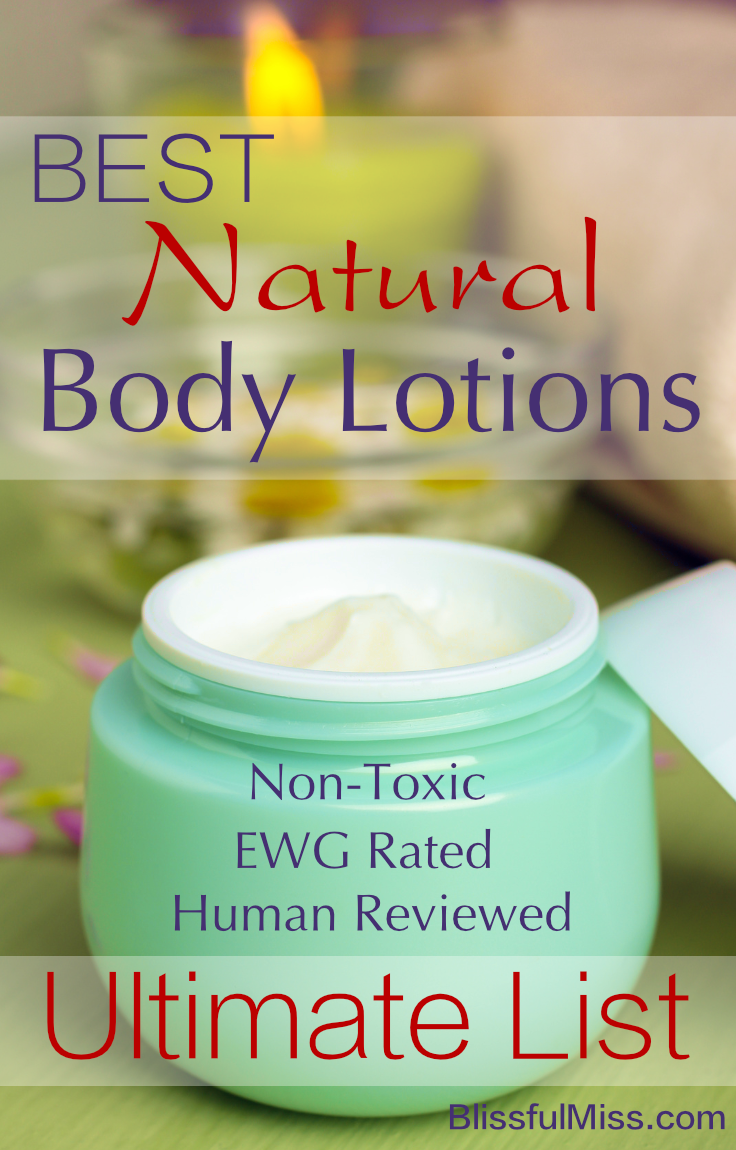 16 Best Natural Body Lotions Ewg Safe Reviews