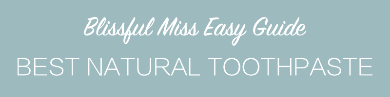 Get super clean, super white and SUPER healthier teeth without adding nasty chemicals to your body. Think fluoride is good for you? Ummm … you've been duped. Get the easy reference guide from Blissful Miss.