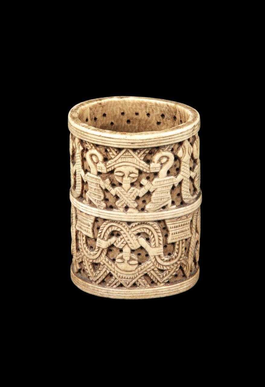3. NIGERIA. Bracelet en ivoire, Yoruba. XVIIIe siècle