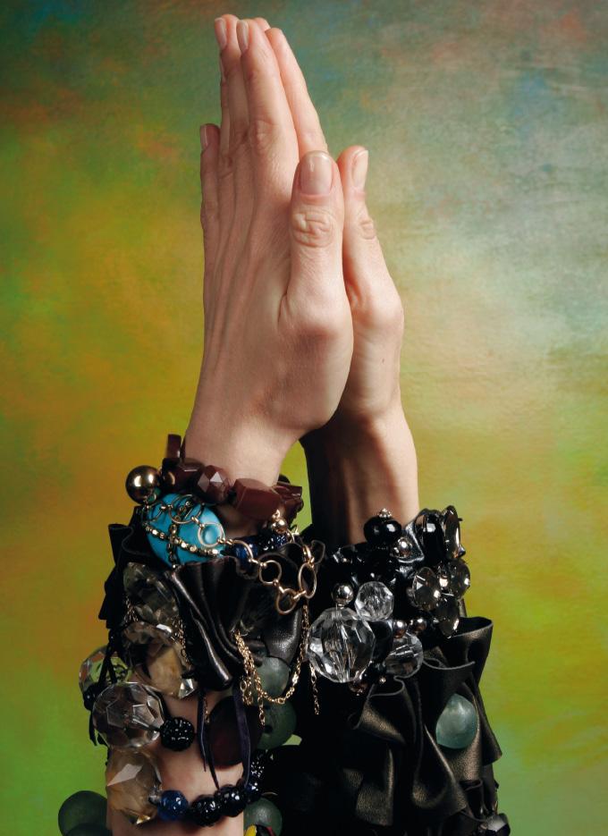 The Prayer, 2009 c-print, 50 x 40 cm ICONOfly Ltd. edition, Bracelets by Irina Vitali, www.ir-wear.com/