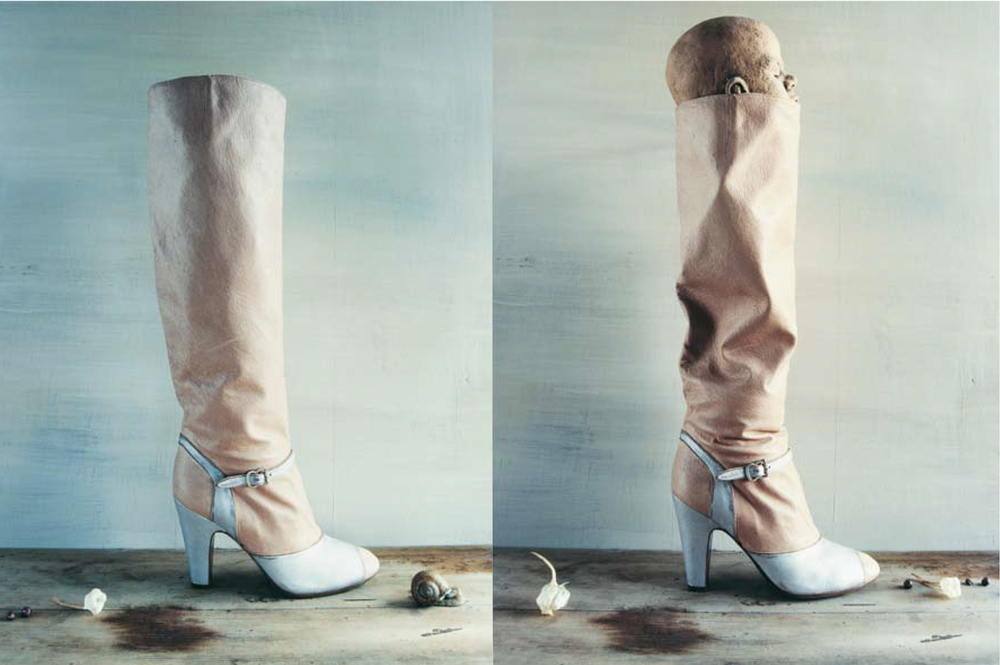 Maison Martin Margiela/ Photography by Tine Drefahl for ICONOfly, dary of a boot, 2008