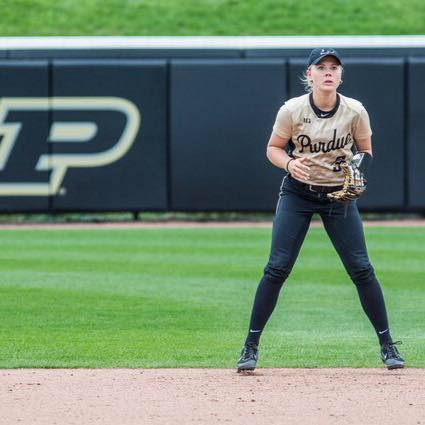 Samantha Peltz - After completing a very successful career at Nicolet High School, Sam set her sights on playing collegiate softball. Although she was well into her senior year at the time, Sam trained at Delta with hopes of attending a Division I school.After working with our hitting and throwing instructors, Sam attended many open camps for a variety of Big Ten programs, and accepted an opportunity to play at the University of Purdue.In 2016, as a true freshman, Sam made 39 appearances, including 29 starts and played a stellar second base, fielding at an impressive .956 percentage. She returned to Delta this offseason to continue to improve, putting an emphasis on her hitting, using our new HitTrax technology.
