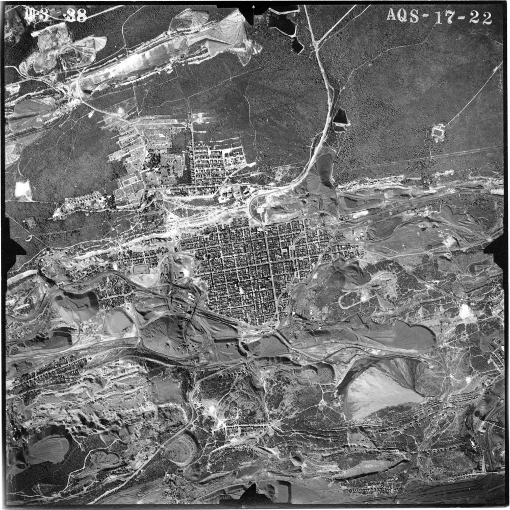 1938 Aerial photograph of Shenandoah.