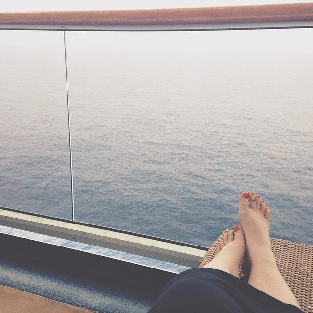 Sailing around the Mediterranean, resetting my cortisol levels & recharging my adrenals.