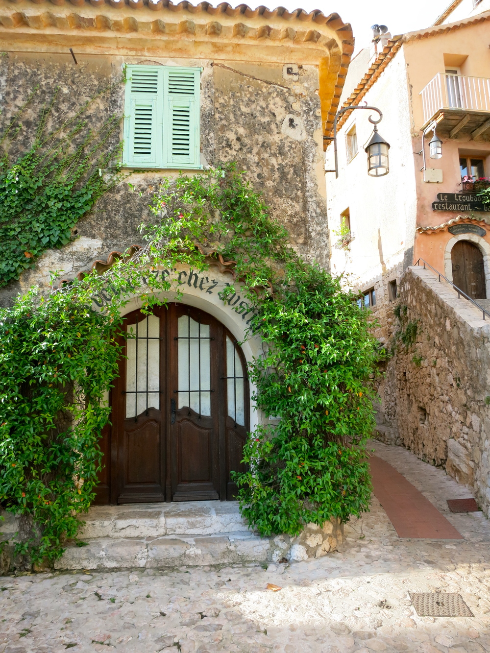 Charm abounds in Eze. © 2014 Gail Jessen