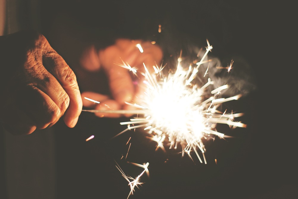 Don't underestimate simple rituals. Who knows which spark will light up our whole year (...life).