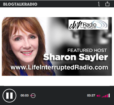 Listen to the interview  here  © 2015 Life Interrupted Radio