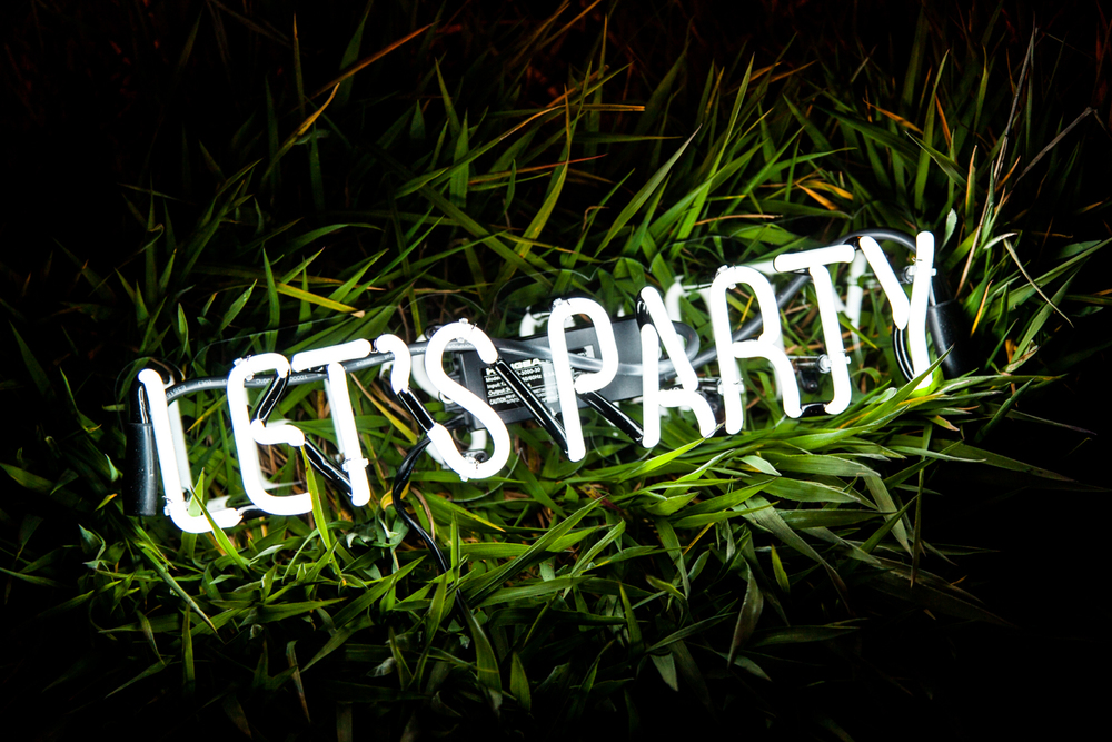 let s party neon mfg
