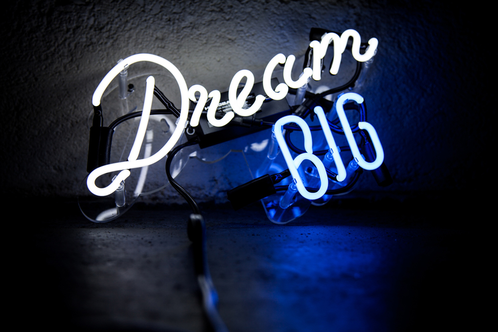 Dream Big Neon Mfg