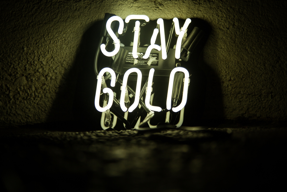 Stay Gold Neon Mfg