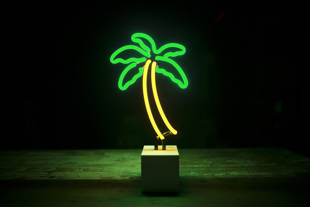 Palm Tree on electrical cord