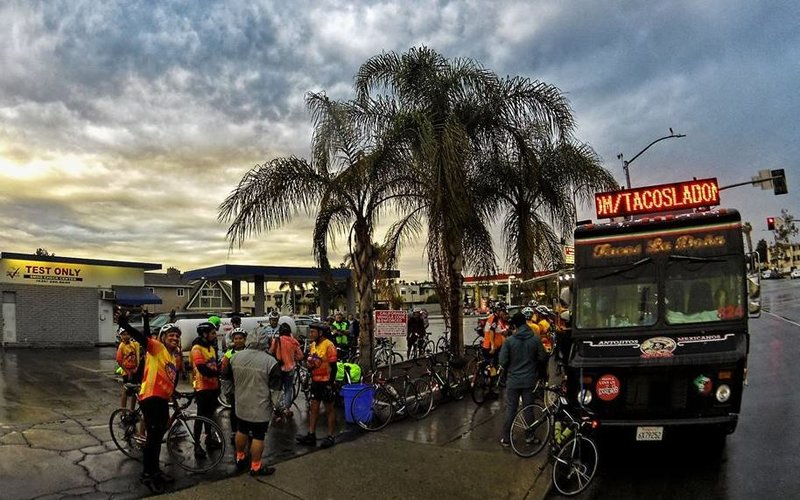 On A 'Tour De Tacos' With Los Angeles' Eastside Bike Club