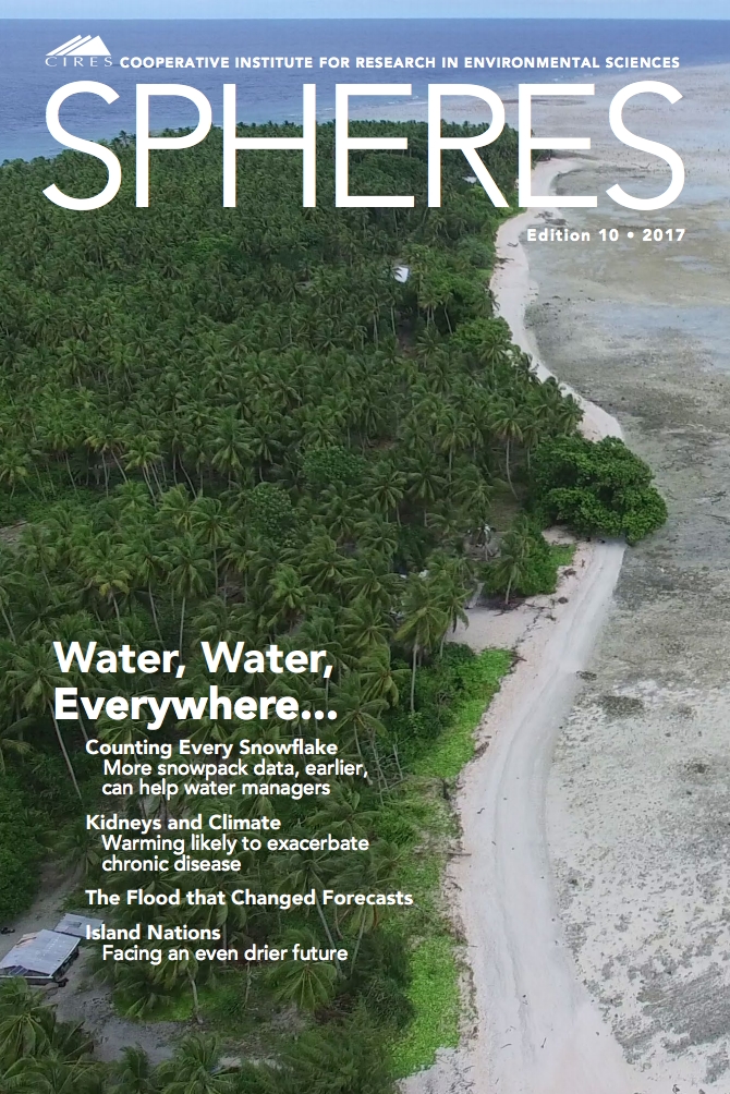 SPHERES Magazine, March 2017 (multiple stories)
