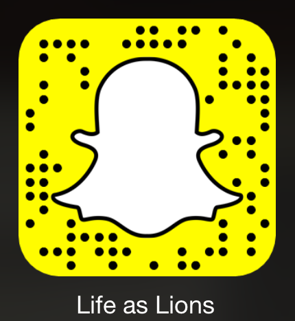 Point your Snapchat app at this image to follow us on Snapchat!