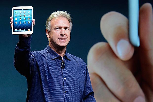 Phil Schiller with iPad Mini