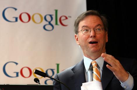 Eric Schmidt Google Background