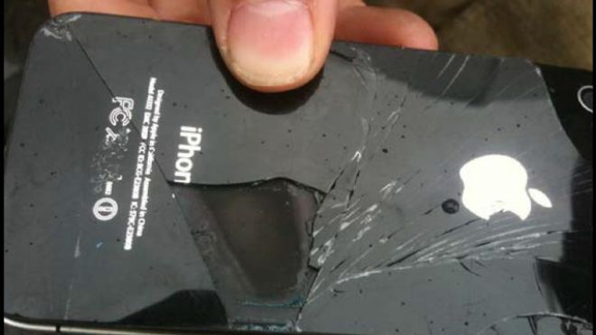 iPhone Catches Fire on Plane