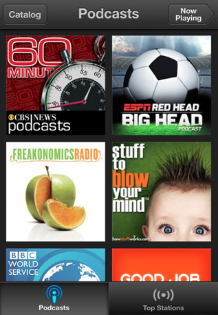 Podcast App 1