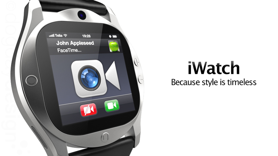 iWatch Concept with Facetime