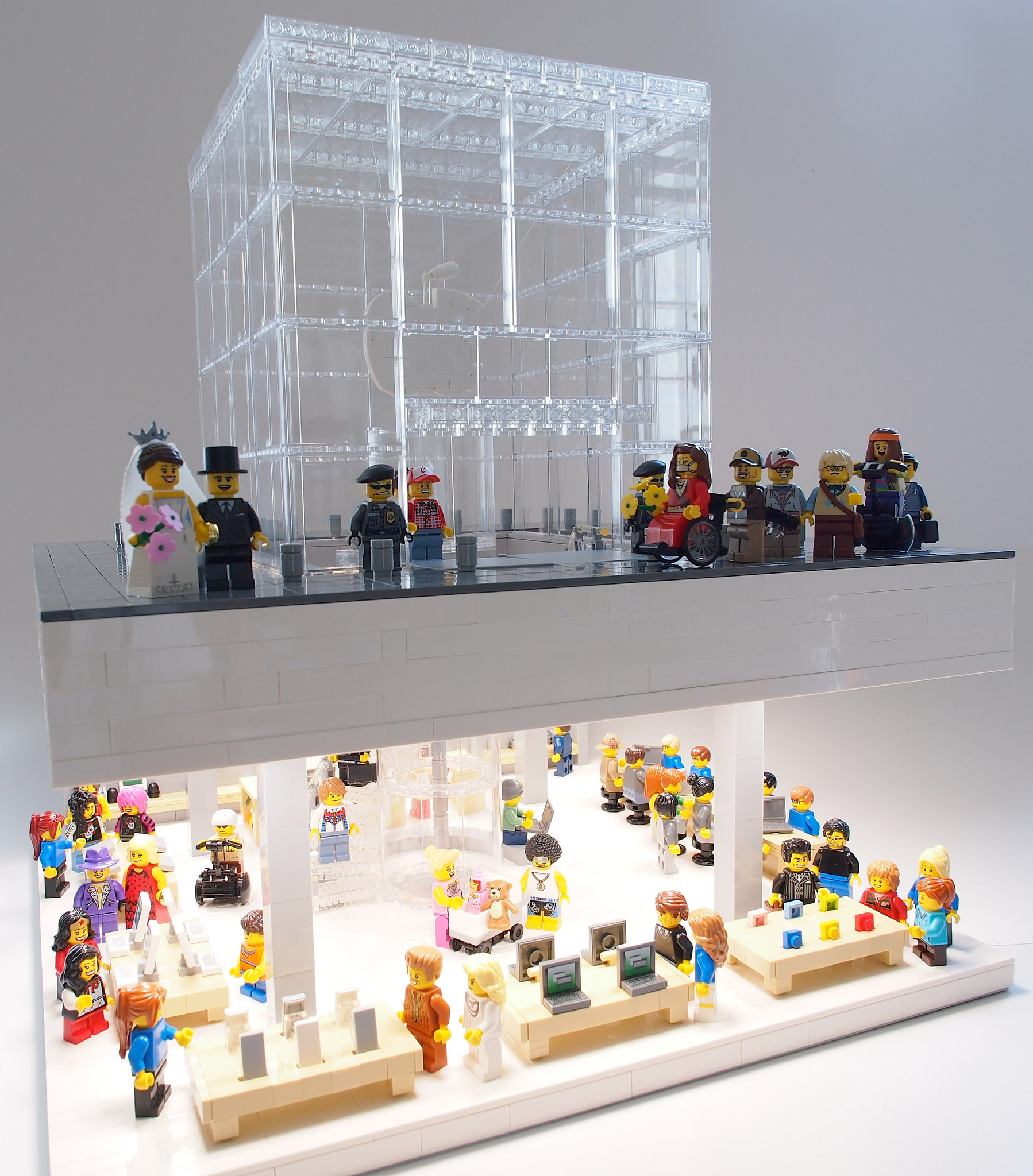 Lego 5th Avenue Apple Store