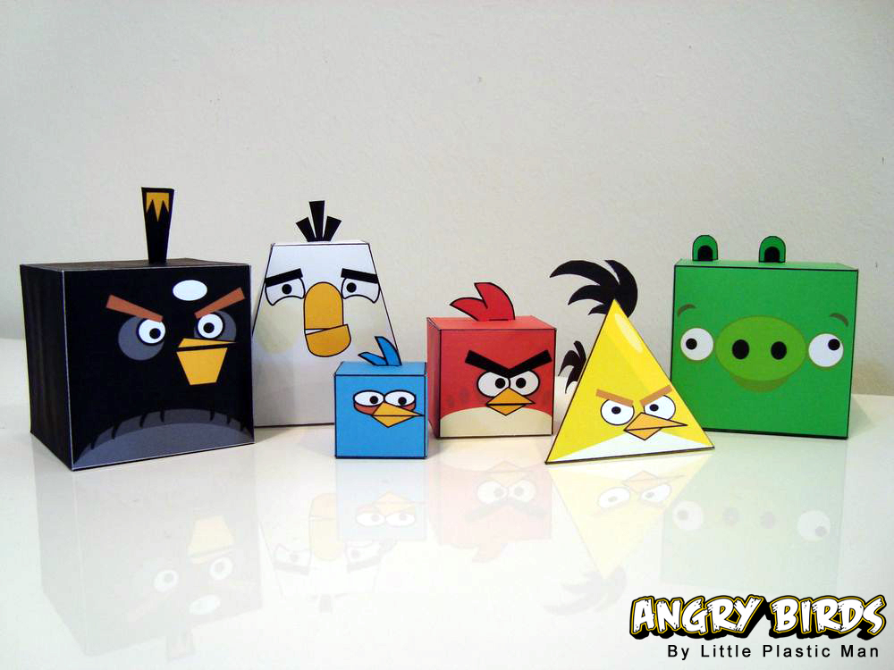 Angry Birds Origami 01
