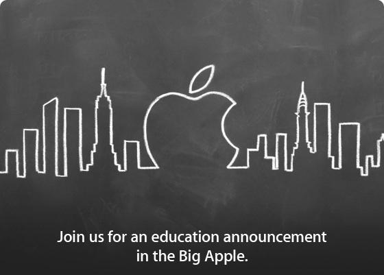 Apple Education Event invite