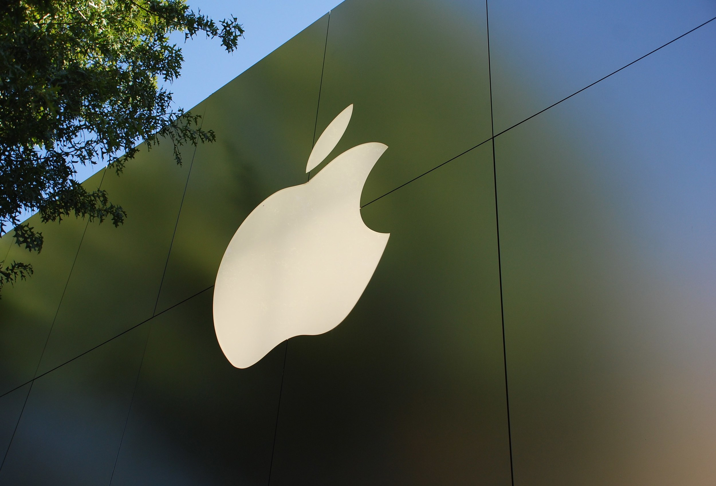 Apple Logo at HQ