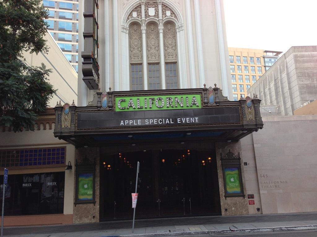 Apple Special Event Oct 23 California Theatre Source MacRumors