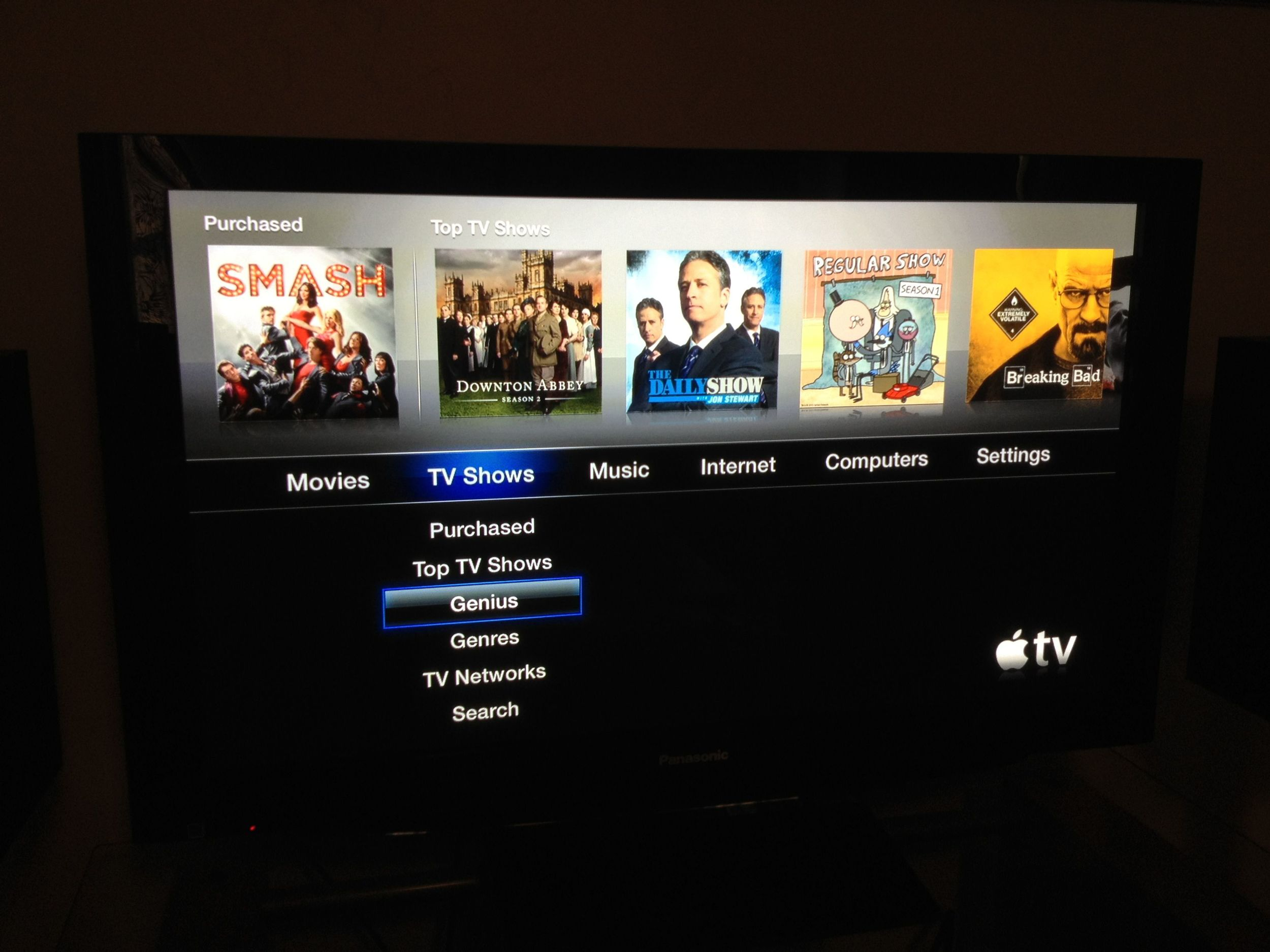 Apple TV Genius