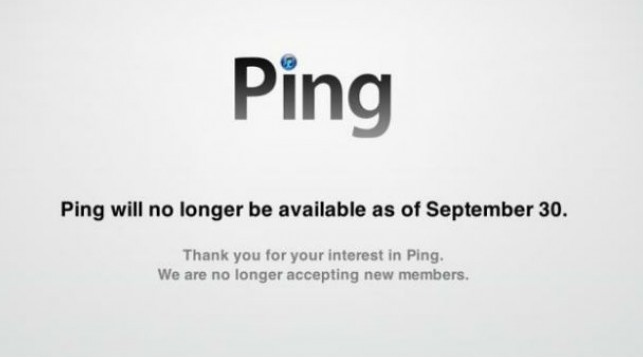 Apple is pulling the plug on Ping