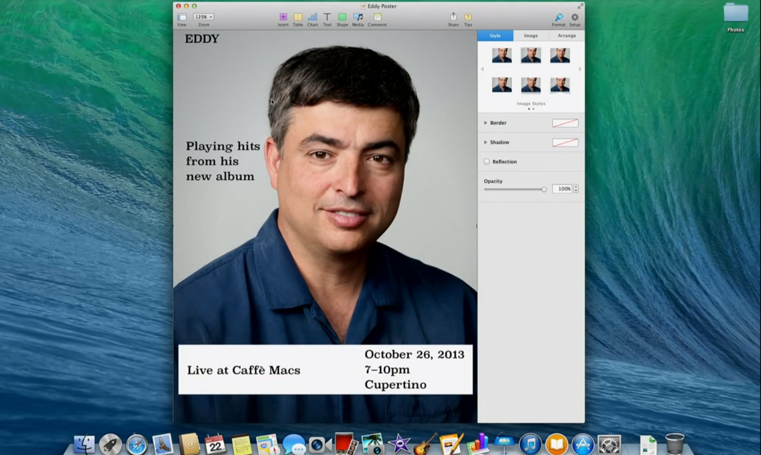 Eddie Cue Apple Keynote October 2013