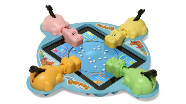 Hungry Hippos on iPad