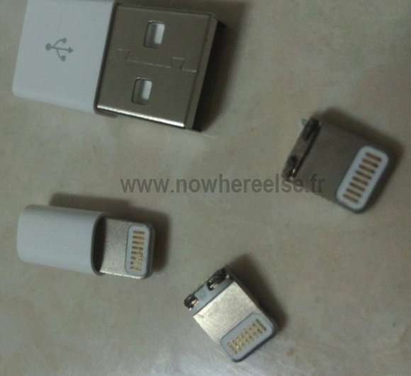 Leaked Photos of Apple iPhone New Dock Connector