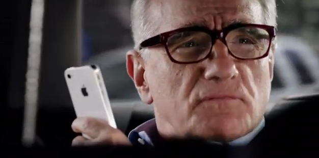 Martin Scorsese loves Siri